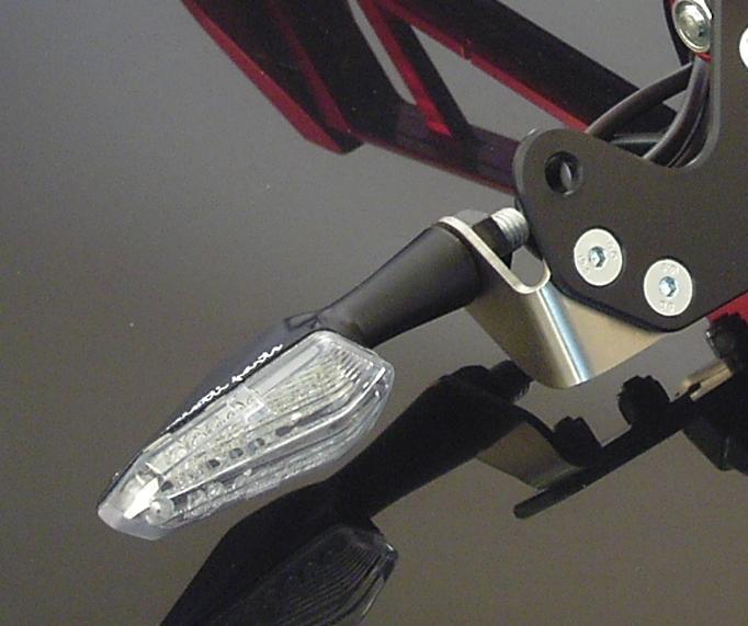 Frecce a led in alluminio, omologate