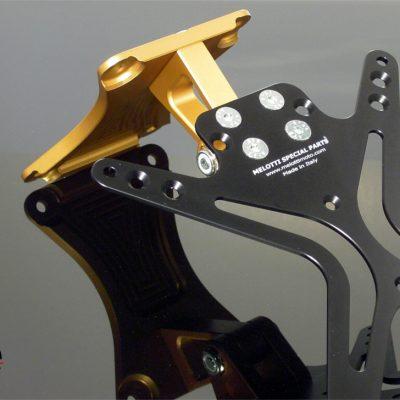 Portatarga Melotti Racing per APRILIA TUONO / RSV 1000