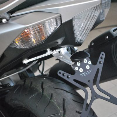 Melotti Racing NUMBERPLATE HOLDER, FENDER ELIMINATOR, TAIL TIDY, for YAMAHA T-MAX