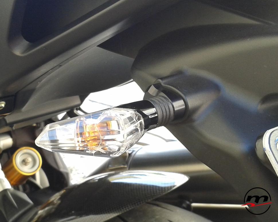 Adattatori frecce posteriori Melotti Racing per MV AGUSTA Brutale B4 dal 2010